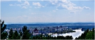 Вид Зеленогорска с горы