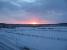 Начало зимнего дня в Зеленогорске
