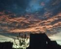 Зловещее небо над городом
