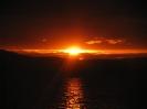 Золотой закат вечера