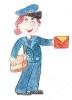 Веселый почтальон